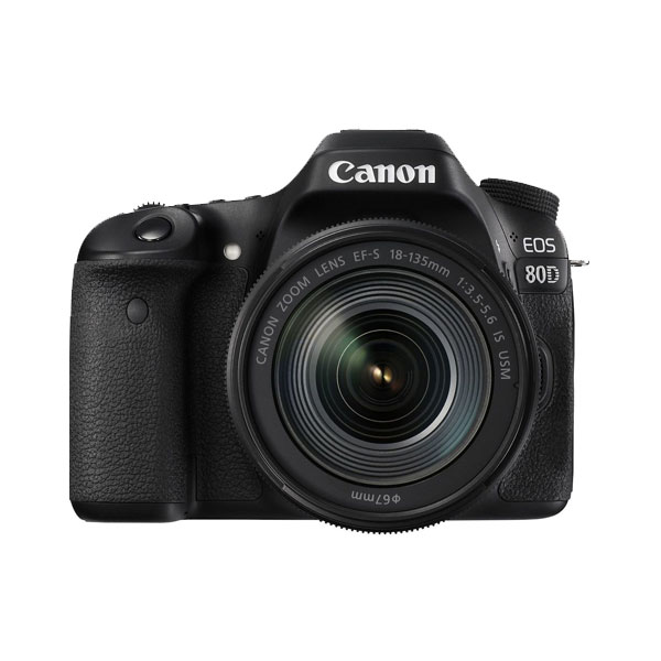 دوربین کانن مدل Canon EOS 80D EF-S 18-135mm f/3.5-5.6 IS USM Kit