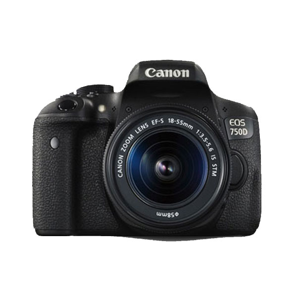 دوربین کانن مدل canon EOS 750D Kit EF-S18-55mm IS STM